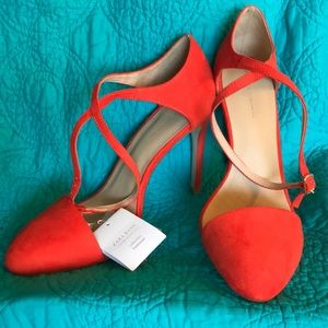 Zara Ankle Strap Stiletto Sandals